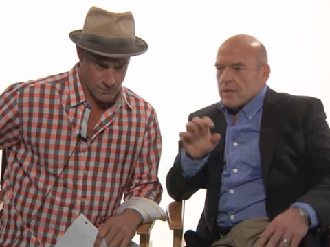 Watch This! 'Breaking Bad's' Dean Norris Loses His Cool Filming 'Small Time' Promo