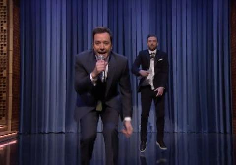 Dynamic Duo! Watch Jimmy Fallon and Justin Timberlake's 'History of Rap 5'
