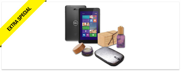 Win It! A Collection from QVC, Including a Dell Tablet