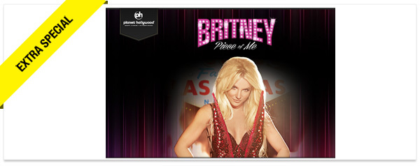 Win It! VIP Tickets to See Britney Spears in Las Vegas and a 2-Night Stay at Planet Hollywood