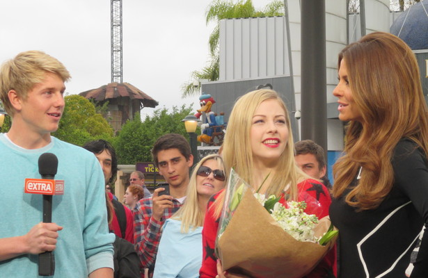 US Olympian Gracie Gold Accepts Prom Invite… Only on 'Extra'!