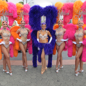 Hot! See Maria Menounos As a Las Vegas Showgirl