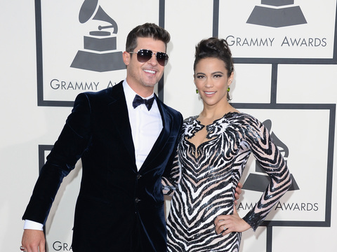 Extra Scoop: Robin Thicke's First Words Since Split from Paula Patton