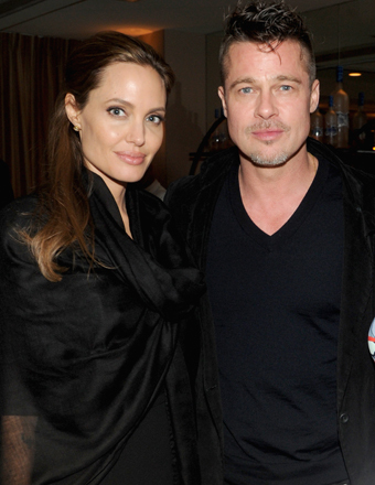 Angelina Spanks Brad, Teases Wedding Plans at Spirit Awards