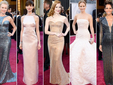 Fashion Flashback: Oscars 2013 Red Carpet