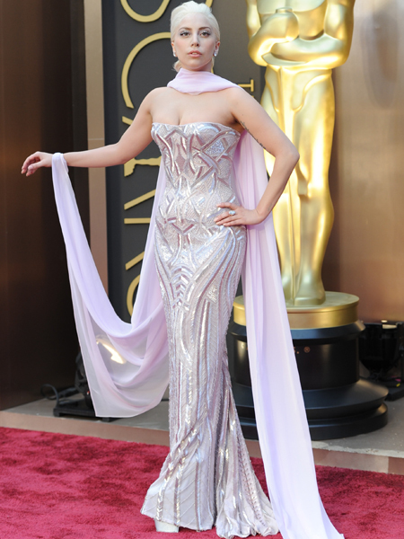 Lady Gaga's Pink Mermaid Oscar Gown… Love It or Hate It?