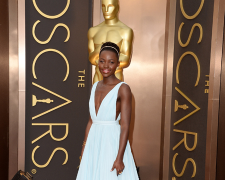 Lupita Nyong'o's Oscars Gown Takes Twitter by Storm
