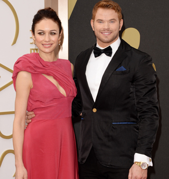 New Couple Alert?! Kellan Lutz Hits Oscars Red Carpet with Bond Girl