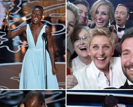 Pics! Our Favorite Moments from the 2014 Oscars