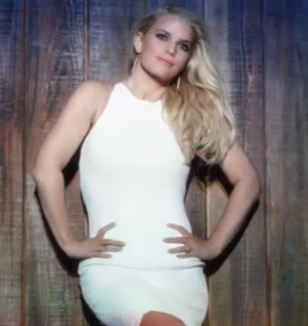 Jessica Simpson Shows Off Weight Loss in Skintight Dress!