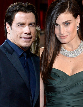 John Travolta 'Beating' Himself Up for Flubbing Idina Menzel's N