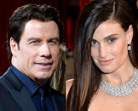 John Travolta 'Beating' Himself Up for Flubbing Idina Menzel's Name