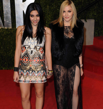 Madonna's Daughter Complains About Strict Dad