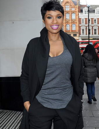Jennifer Hudson rocked a short pixie cut outside Sony Music Studios in London this week.