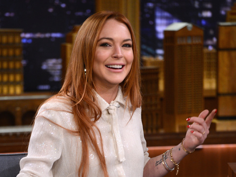 Lindsay Lohan Gets Emotional Talking About Her Relationship with Oprah