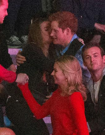 Aww! Prince Harry and Cressida Bonas Share a Sweet Kiss