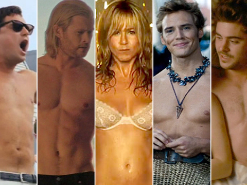 Who Gave the Best Shirtless Performance of 2013?