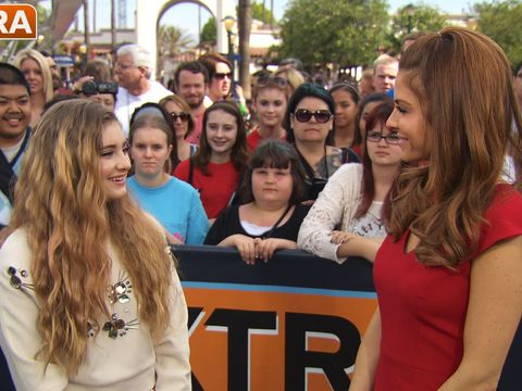 'Hunger Games' Star Willow Shields Talks 'Mockingjay,' Working with Jennifer Lawrence