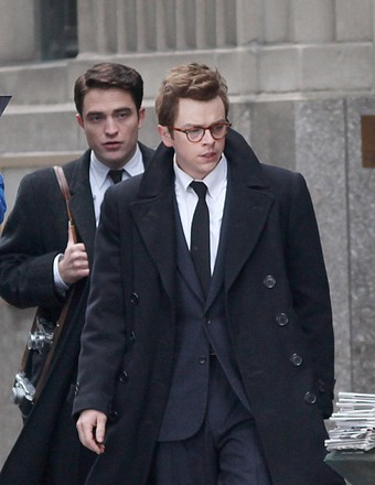 "Robert Pattinson and Dane DeHaan filmed a scene for their upcoming movie ""Life."""
