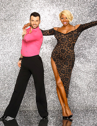 First Look! NeNe Leakes and Tony Dovolani Rehearse for 'DWTS'