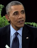 Must-See Video! President Obama Sits 'Between Two Ferns' with Zach Galifianakis