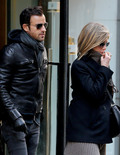 Pic! Jennifer Aniston and Justin Theroux Spied in NYC