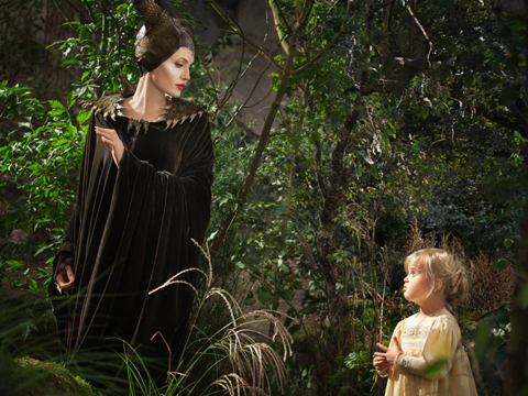 Look! It's Angelina Jolie and Brad Pitt's Daughter Vivienne in 'Maleficent'