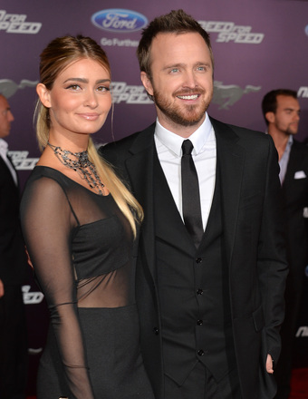Aaron Paul Nearly Married Lauren Parsekian on First Date