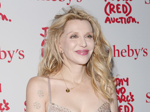 Courtney Love Hopes She Found the Malaysia Airlines Plane