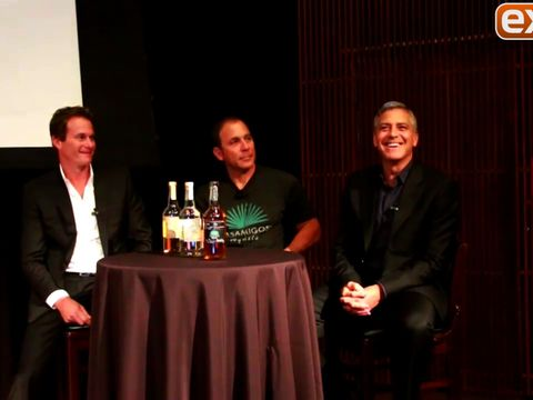 Video! George Clooney Really Likes Tequila