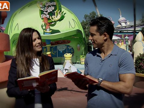 Mario Lopez and Julie Gonzalo's Epic, Dramatic Reading of 'Green Eggs and Ham'