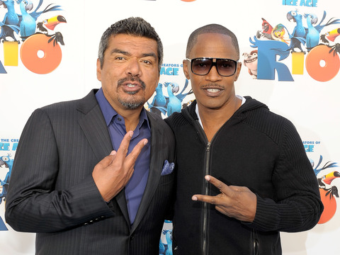 'Rio 2' Stars Jamie Foxx and George Lopez on Their Love Lives… or Lack Thereof