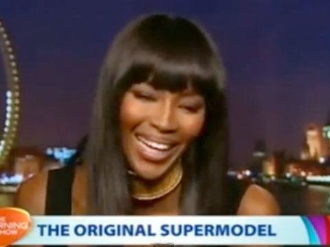 Naomi Campbell Laughs When Asked About Kimye Vogue Cover