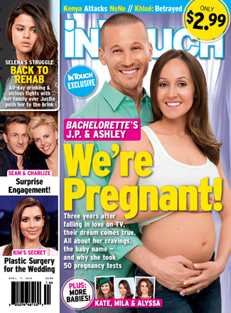 'Bachelorette' Baby! Ashley Hebert and J.P. Rosenbaum Expecting First Child