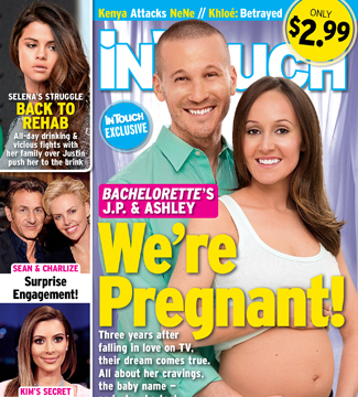 'Bachelorette' Baby! Ashley Hebert and J.P. Rosenbaum Expecting First Child