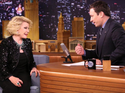 Joan Rivers Returns to 'Tonight Show' Aft