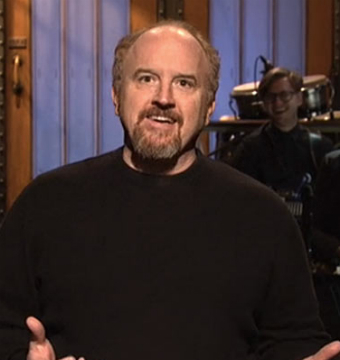 Video! 'SNL' Host Louis C.K. Delivers 9-Minute Opening Monologue