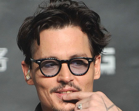 Why Is Johnny Depp Wearing a 'Chick's' Diamond Engagement Ring?