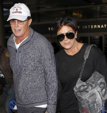 Bruce Jenner Holds Hands with Kris… Amid New Sex Change Reports