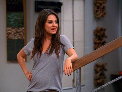 First Look! Watch Mila Kunis and Ashton Kutcher Together in 'Two and a Half Men'