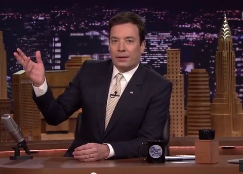 Jimmy Fallon Honors David Letterman with Top 10 List