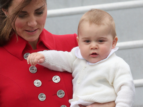 Prince George on First Royal Tour… See the Pics!