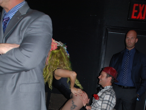 Lady Gaga and BF Taylor Kinney Are All Over Each Other… See the Pics!