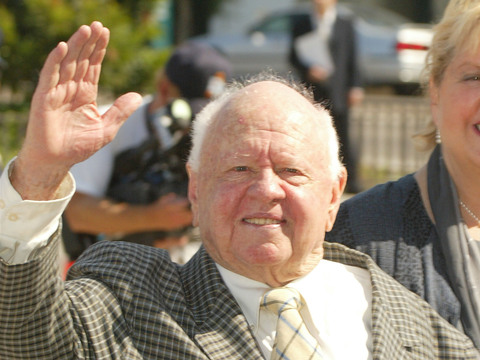 Mickey Rooney's Estate Only Worth $18K, Family Feuding