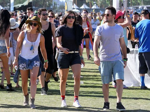 Coachella 2014 Sightings! Hilary Duff and Mike Comrie, Selena Gomez and Others