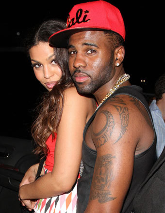Jordin Sparks and BF Jason Derulo enjoyed a night out at Supperclub in Hollywood.