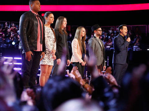 'The Voice' Top 12! See Who's Going Into the Live Shows