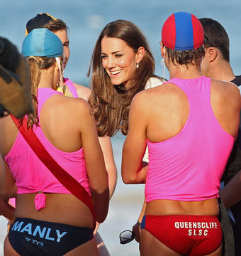 Pics! Kate Middleton's 'Baywatch' Moment in Sydney