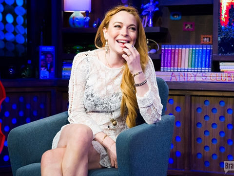 Lindsay Lohan's Sex List Confession