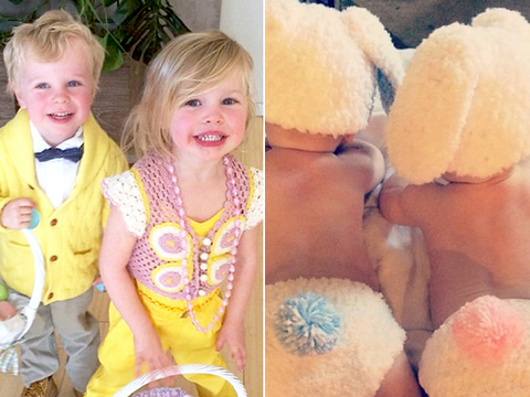 So Cute! Stars Share Adorable Easter Pics